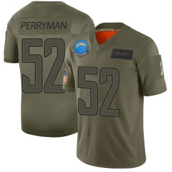 Nike Denzel Perryman Los Angeles Chargers Youth Limited Camo 2019 Salute to Service Jersey