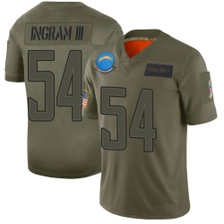 Nike Melvin Ingram Los Angeles Chargers Youth Limited Camo 2019 Salute to Service Jersey