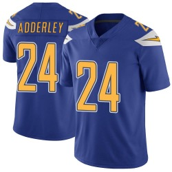 Nike Nasir Adderley Los Angeles Chargers Youth Limited Royal Color Rush Vapor Untouchable Jersey