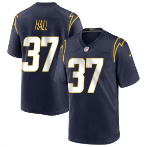 Nike Kemon Hall Los Angeles Chargers Youth Game Navy Team Color Jersey