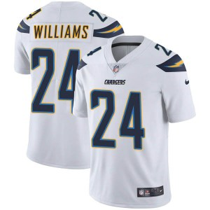 Nike Trevor Williams Los Angeles Chargers Men's Limited White Vapor Untouchable Jersey