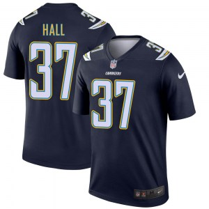 Nike Kemon Hall Los Angeles Chargers Men's Legend Navy Jersey