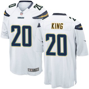 Nike Desmond King Los Angeles Chargers Men's Game White Jersey