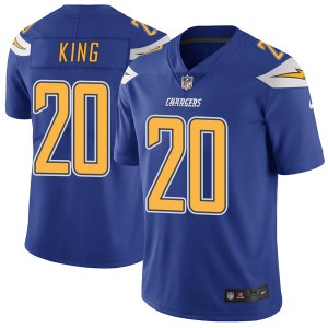 Nike Desmond King Los Angeles Chargers Youth Limited Royal Color Rush Vapor Untouchable Jersey