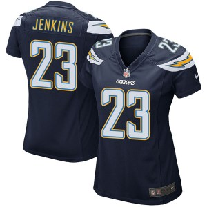 Nike Rayshawn Jenkins Los Angeles Chargers Women's Game Navy Team Color Jersey
