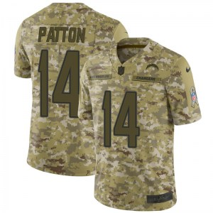 Nike Andre Patton Los Angeles Chargers Youth Limited Camo 2018 Salute to Service Jersey