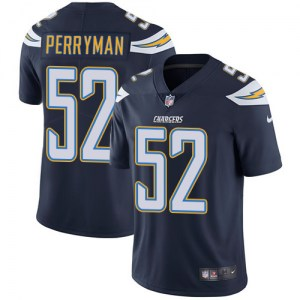 Nike Denzel Perryman Los Angeles Chargers Men's Limited Navy Blue Team Color Jersey